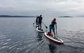 SUP around the Isle of Bute (2016)