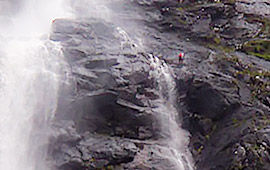Aquaseil UK's highest waterfall (2009)