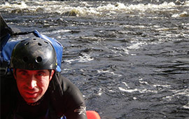 Hydrospeed Scotlands longest river (2007)
