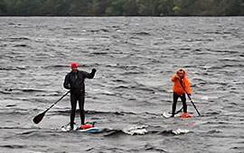 SUP Inverness to Fort William non-stop (2016)