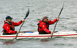 Participate in Oban sea Kayak race (2012)