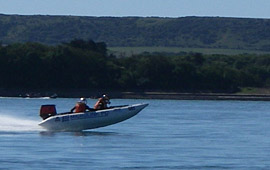 Set a Thundercat powerboat record (2006)