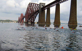 Swim across Firth of Forth (2014)